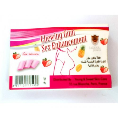 chewing gum sex enhancement
