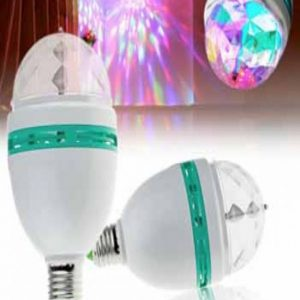 led lamp for home color rotate lights