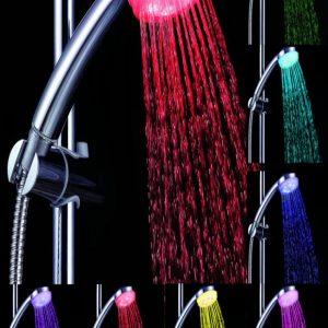 led light shower head with multi colors buy online