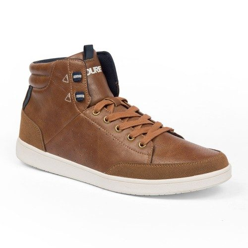 Leather shoes casual footwear for men