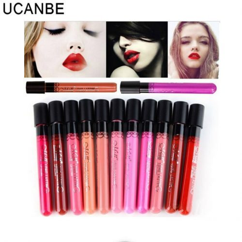 matte lip gloss set