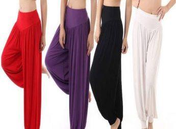 Pack Of 4 Harem Pants 03412000500