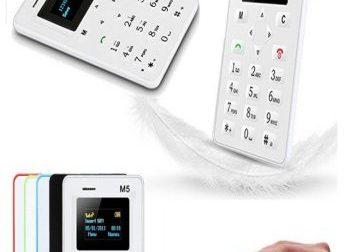 Slim Mobile Credit Card Size Mobile Phone M5 03412000500