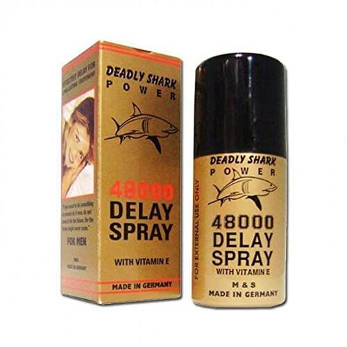 best delay spray in pakistan deadly shark 48000