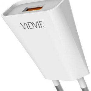 VIDVIE Fast Charger 1.2 A MAX USB PORT VIDVIE.Fast.Charger.1.2A.MAX.USB.PORT.in.