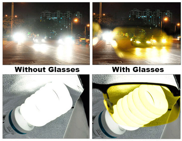 HD night vision glasses for car drive in lahore