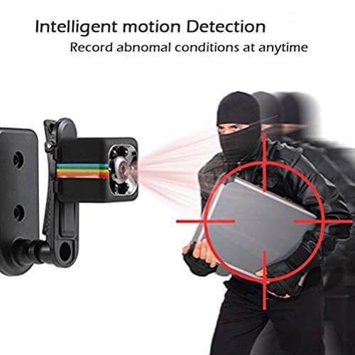Ultra Mini spy small hidden video camera with night vision HD in Pakistan