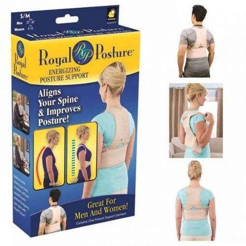 Adjustable Posture Back Supporter Corrector Brace Shoulder Belt