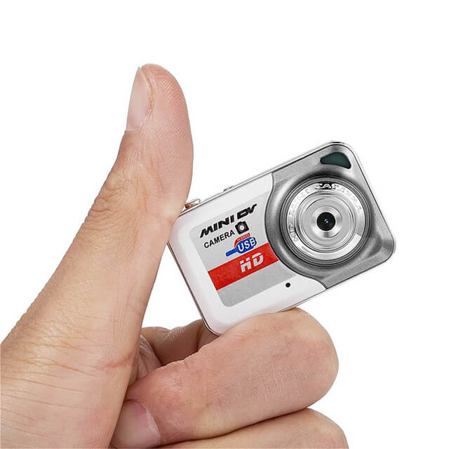 World Smallest Digital mini Camera