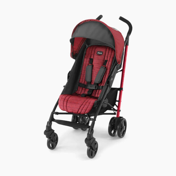CHICCO Stroller Liteway red for kids and children in Pakistan
