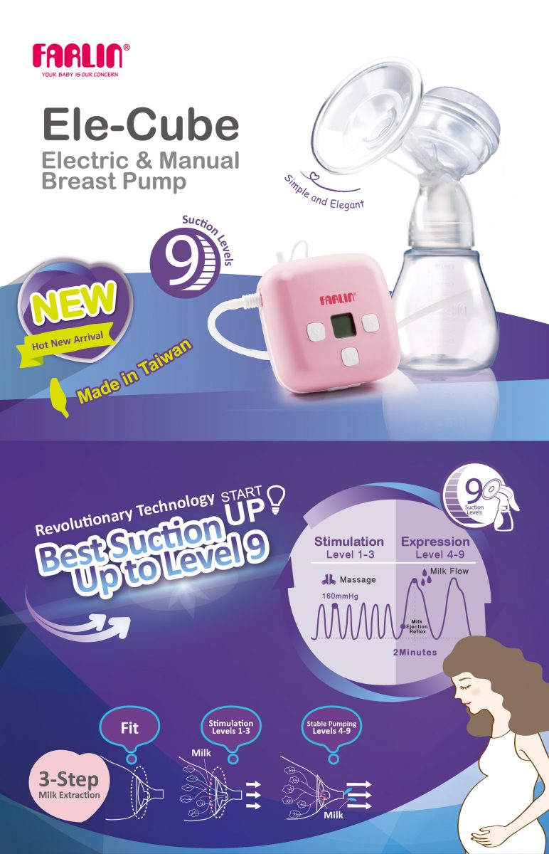Electric / Manual Breast Pump mother breast feeding Pakistan
