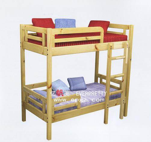 Double Story Wooden Bed