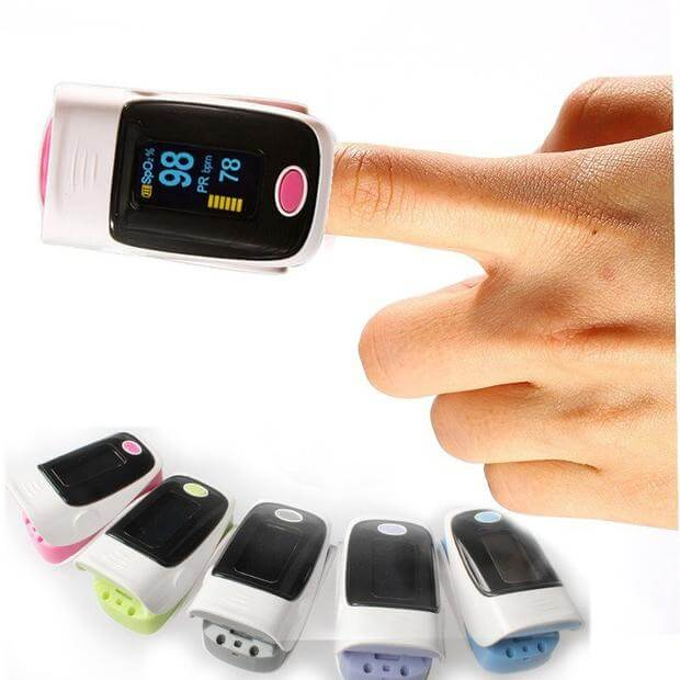 digital finger pulse reader and detector for a heart patient in Pakistan