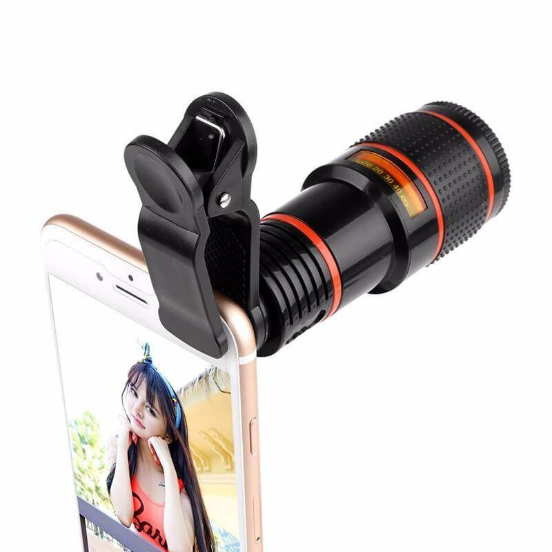 HD12X Zoom mobile lens with long range in Pakistan