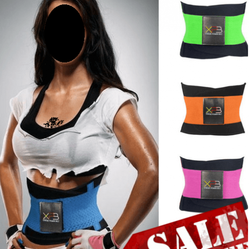 extreme waist training fitness belt for belly in Pakistan