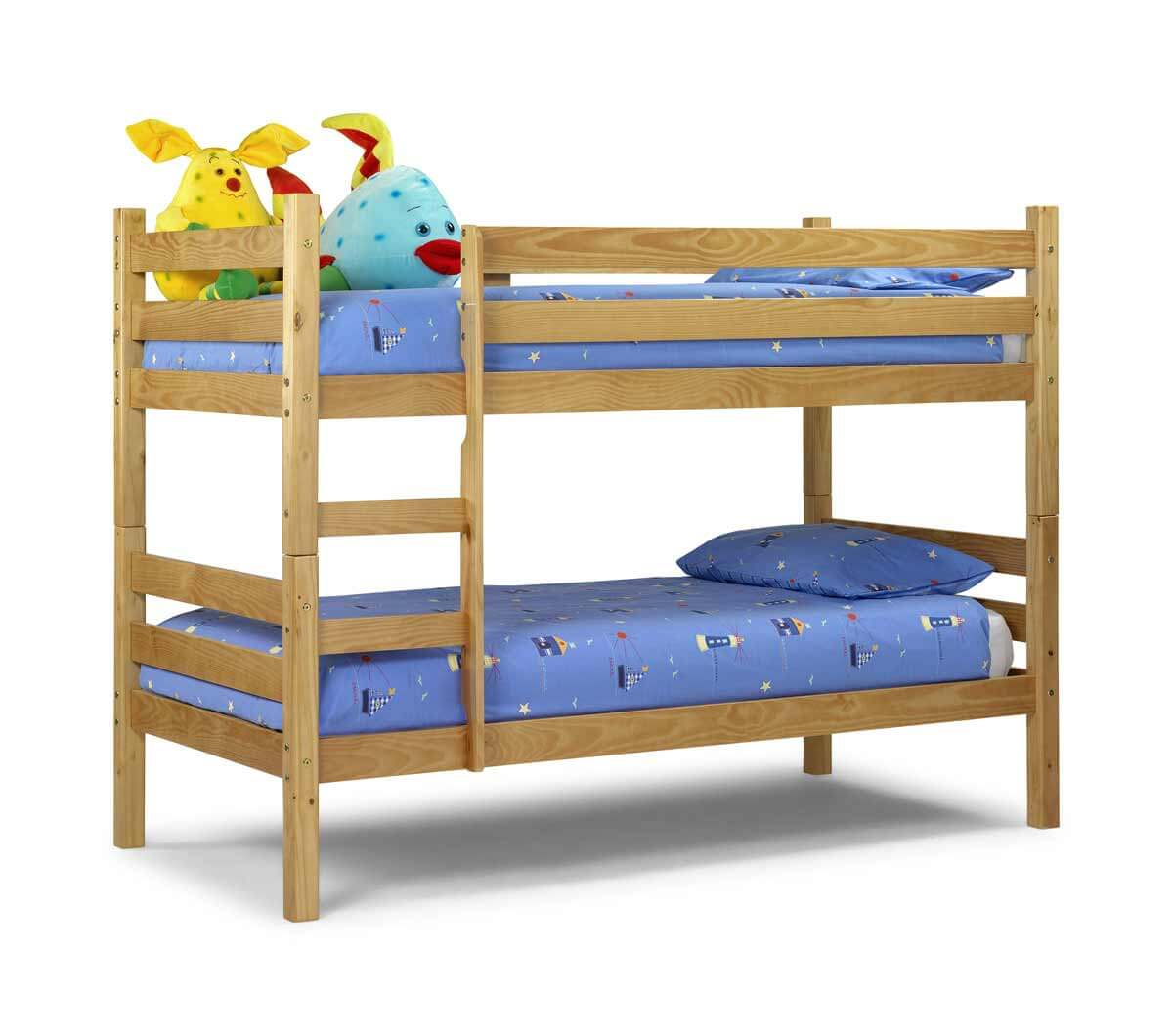 Wooden Double Story Kids Bed