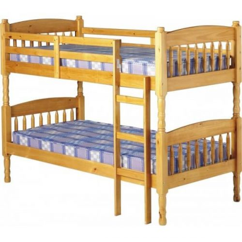 Double store sleeping Bed wooden cheap price in Pakistan