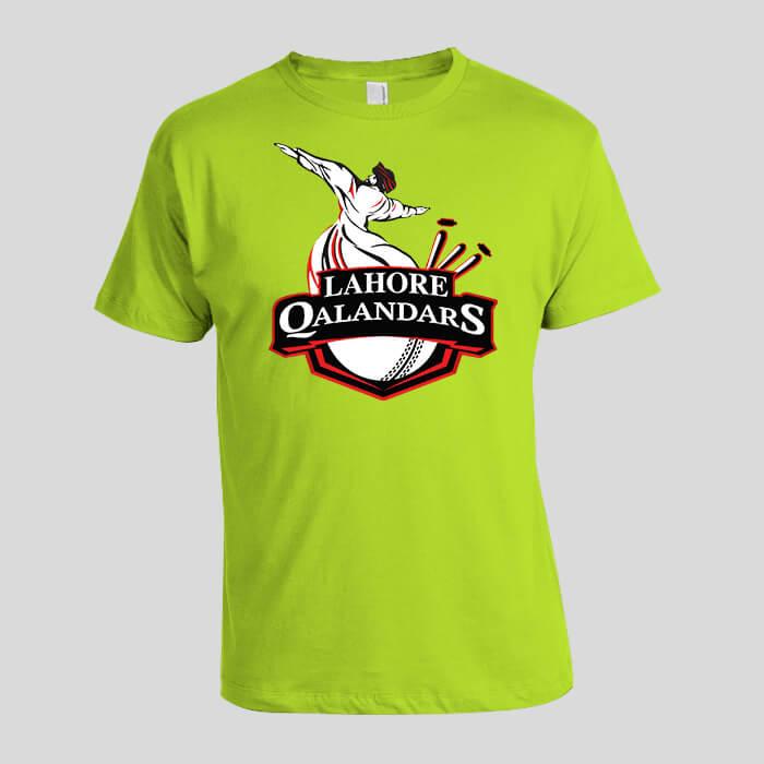 lahore qalandars psl tshirt latest 2019 in pakistan