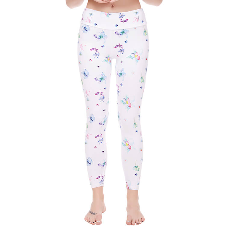 flower design cool legging 2019 for women in Pakistan