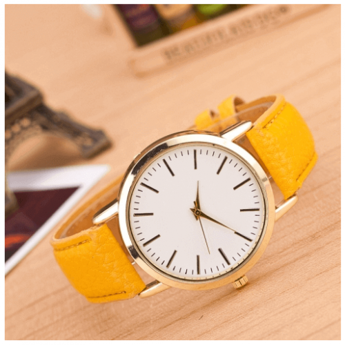 Fashion and stylish Marble And Gold Belt Watches in Pakistan