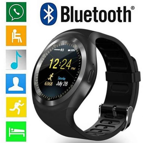 Original Y1 smart watch all in one functions fully digital in Pakistan