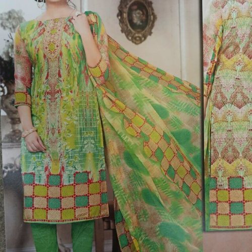 green salwar suit combination on sale