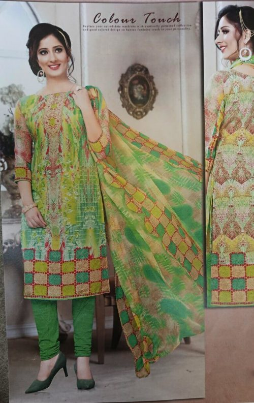 green salwar suit combination on sale