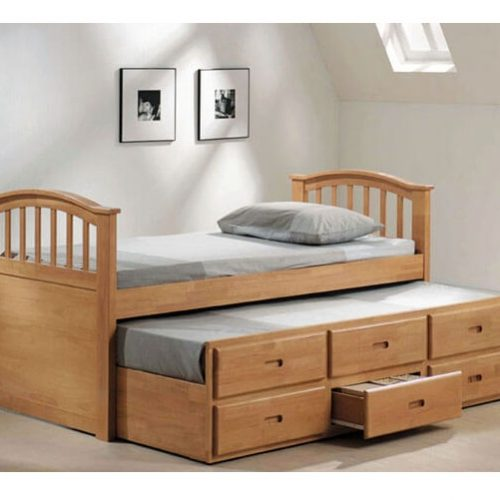 bed design in Pakistan for multi purpose use bedroom furniture