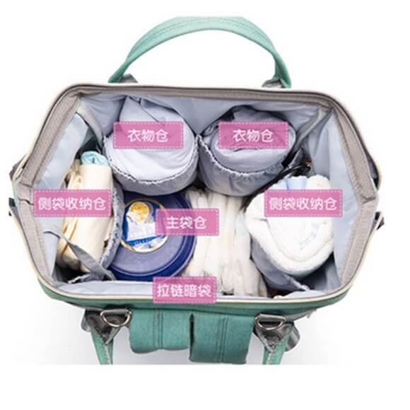 Baby diaper shoulder bags new style multi storage in Pakistan