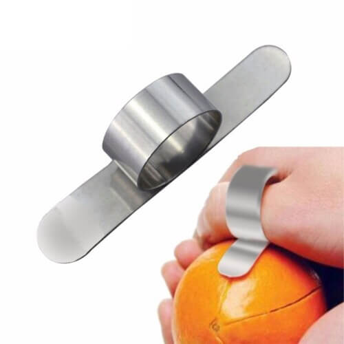 Orange Peeler Stainless Steel Fit in Finger Tool in Pakistan
