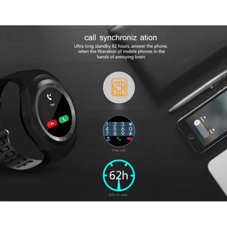 Y1 smart watch all in one functions fully digital in Pakistan