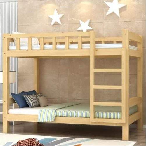 Strong kids bed - double story king furniture designs in Pakistan