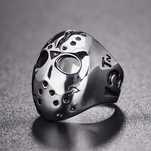 Unique Titanium Steel Ring Rock Must Skull Design for men in Pakistan