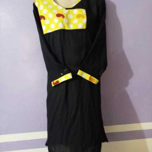 stylish black kurti click to buy