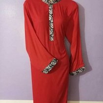 boutique style Red kurti buy online