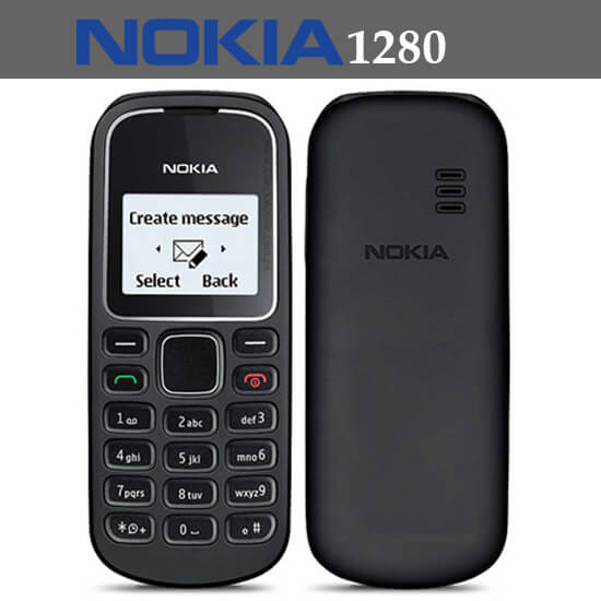 Nokia 1280 new low price color screen long time battery in Pakistan