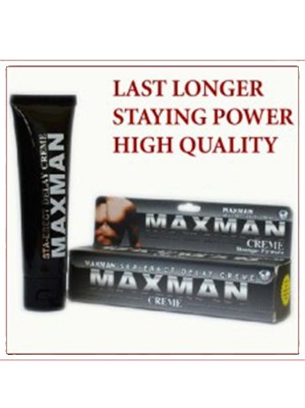 delay cream for men maxman