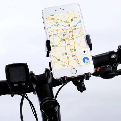 motorcycle mobile holder for uber and careem professional riders