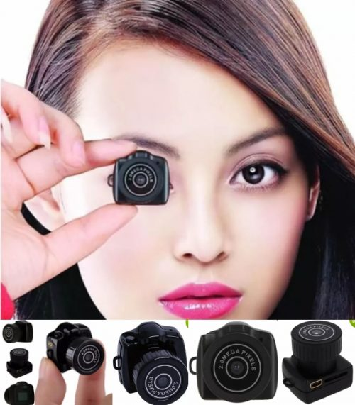 Y2000 Smallest 720P HD Webcam Mini Camera DV DVR V