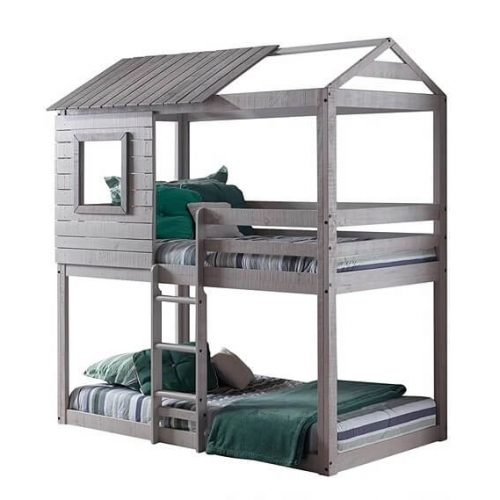 Baby Hut Style Bunk Bed