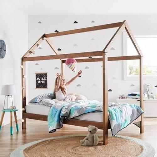 baby bed open hut design in pakistan