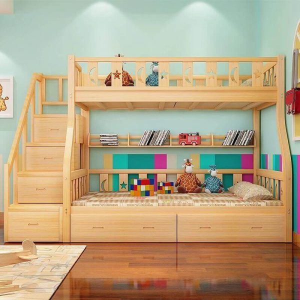 bunk bed heavy duty for kids and adults low price