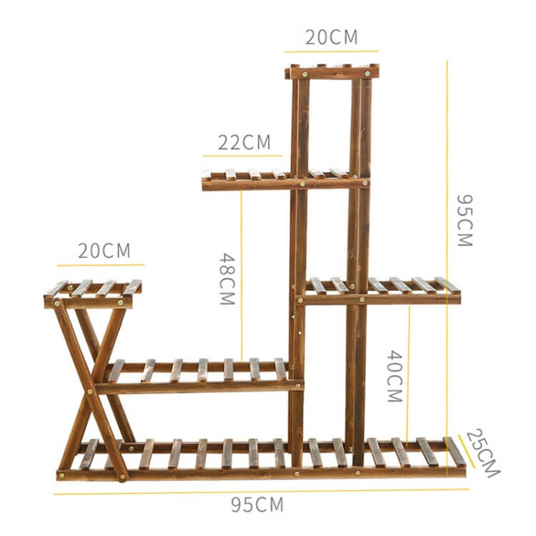 Plant stands for home garden