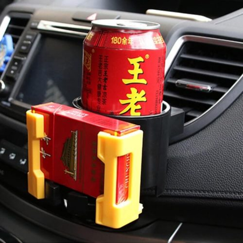 Cup and bottle holder multi-functions in car