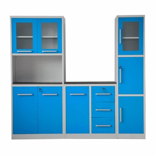 Kitchen cabin blue design 2019 in Pakistan