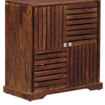shoes rack cabinet design solid wood in Pakistan