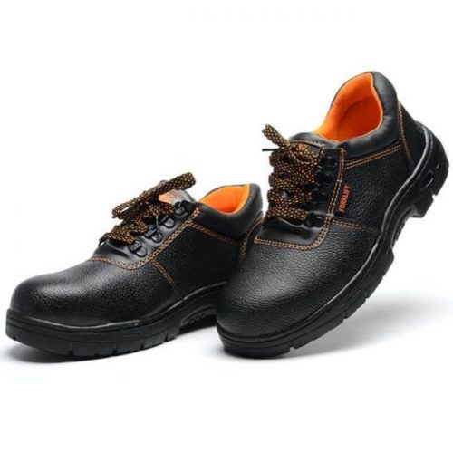 Simple Black Safety Shoes in Pakistan