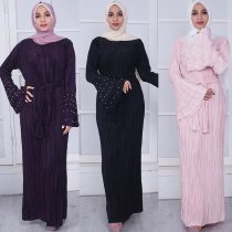 Women's Prayer Dress Cotton Pleated