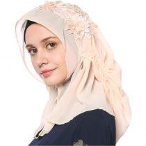 Fashion Rhinestones Muslim Women's Chiffon Hijab