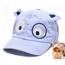 Kid's Cartoon Embroidered Cap